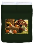 Southern Harvestime Display Duvet Cover by Kathy Clark