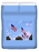 Southern Skies Duvet Cover by Kristin Elmquist
