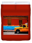 Special Delivery Duvet Cover by Skip Hunt
