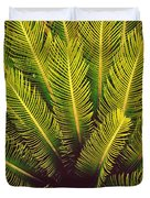 Spiked Leaves Duvet Cover by Sumit Mehndiratta