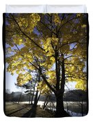 Spirit By The Lake Duvet Cover by Rob Travis