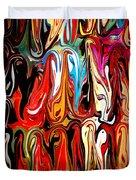 Spirit of Mardi Gras Duvet Cover by Carol Groenen