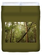 Spirit Of The Pacific Northwest Duvet Cover by Carol Groenen