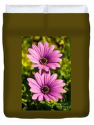 Spring Flowers Duvet Cover by Carlos Caetano