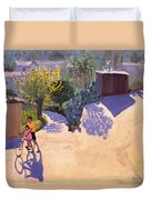 Spring In Cyprus Duvet Cover by Andrew Macara