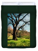 Spring Oak Duvet Cover by Kathy Yates