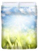 Springtime Duvet Cover by Les Cunliffe