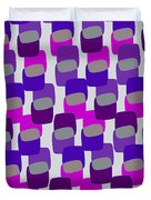 Squares Duvet Cover by Louisa Knight