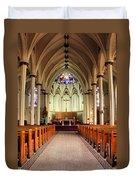 St. Mary's Basilica Halifax Duvet Cover by Kristin Elmquist