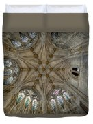 St Mary's Ceiling Duvet Cover by Adrian Evans