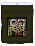 Stained Glass Lc 12 Duvet Cover by Thomas Woolworth