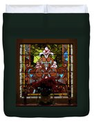 Stained Glass Lc 17 Duvet Cover by Thomas Woolworth