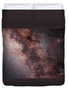 Stars, Nebulae And Dust Clouds Duvet Cover by Philip Hart