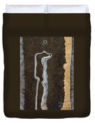 Stone Men 01 - Her Duvet Cover by Variance Collections