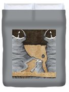 Stone Men 27 - Mama Fiesta Duvet Cover by Variance Collections