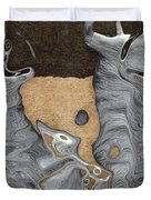 Stone Men 28 - Celebration  Duvet Cover by Variance Collections