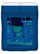 Stone Men 28c2b - Celebration Duvet Cover by Variance Collections
