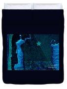 Stone Men 30-33 C02c - Les Femmes Duvet Cover by Variance Collections