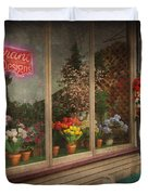 Store - Belvidere NJ - Fragrant Designs Duvet Cover by Mike Savad