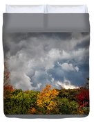 Storms Coming Duvet Cover by Ronald Lutz