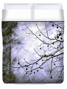 Sudden Snowstorm Duvet Cover by Judi Bagwell