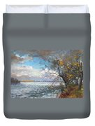 Sun After Storm Duvet Cover by Ylli Haruni