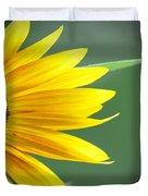 Sunflower Morning Duvet Cover by Bill Cannon