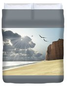 Sunlight Shines Down On Two Birds Duvet Cover by Corey Ford