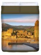 Sunrise In Collioure Duvet Cover by Brian Jannsen