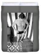 Swimmer 5 Duvet Cover by William Dey