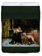 Sympathetic Friends Duvet Cover by Florent Willems