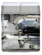 Tank Driver Of A Belgian Leopard 1a5 Duvet Cover by Luc De Jaeger
