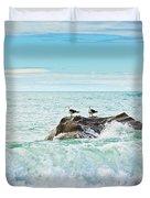 Tasman Sea Duvet Cover by MotHaiBaPhoto Prints