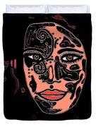 Tattoo Artist Duvet Cover by Natalie Holland