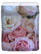 Tea Time Roses Duvet Cover by Carol Groenen