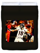 Tebow Duvet Cover by Paul Van Scott