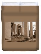 Tennessee Plantation Porch Duvet Cover by Carol Groenen