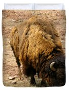 The American Buffalo Duvet Cover by Bill Cannon