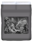 The Angel Of Hadley, 1675 Duvet Cover by Photo Researchers