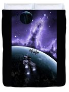 The Blockade Runner Treacherous Duvet Cover by Brian Christensen