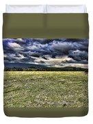 The Cattle Farm Duvet Cover by Douglas Barnard