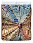 The Cleveland Arcade I Duvet Cover by Clarence Holmes