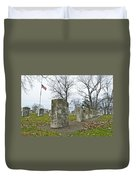 The Cost Of War 0063 Duvet Cover by Michael Peychich