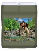 The Crystal Mill 1 Duvet Cover by Ken Smith