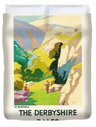 The Derbyshire Dales Duvet Cover by Frank Sherwin