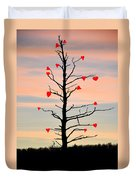 The Fall Of Love Duvet Cover by Bill Cannon