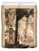 The Fortune Teller Palmistry Duvet Cover by Robin Lewis