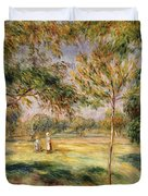 The Glade Duvet Cover by Pierre Auguste Renoir