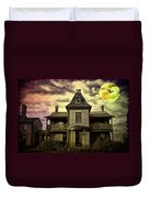 The Haunted Mansion Duvet Cover by Bill Cannon