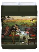 The Honeymoon Duvet Cover by Marcus Stone